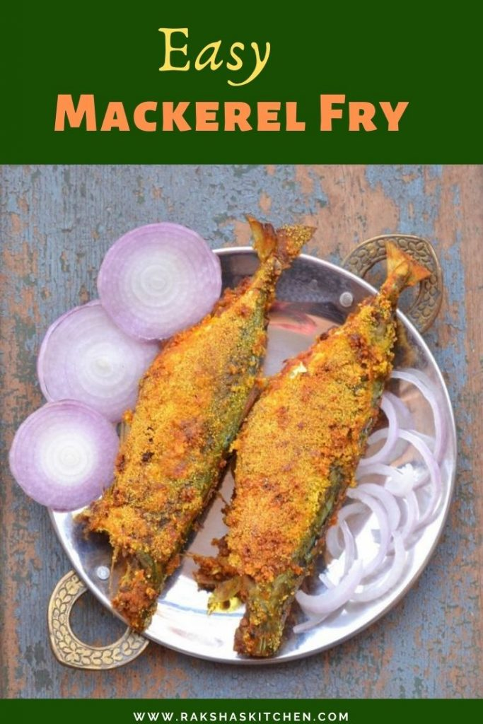 Easy Mackerel Fry