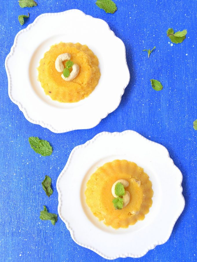 Mango sheera, mango halwa, mango kesari, mango kesari bhaat, rava sheera, sheero, Indian pudding, semolina pudding, Indian sweet