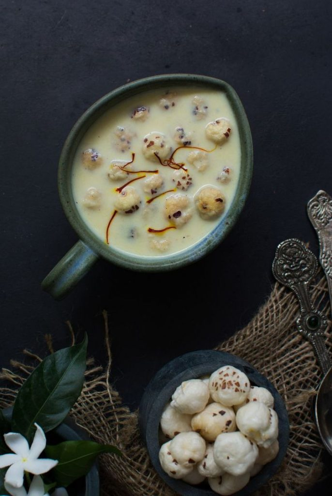 Low-Calorie Diets And Recipes From A Nutritionist,Makhana Kheer Low Calorie Recipe,low-caorie diets