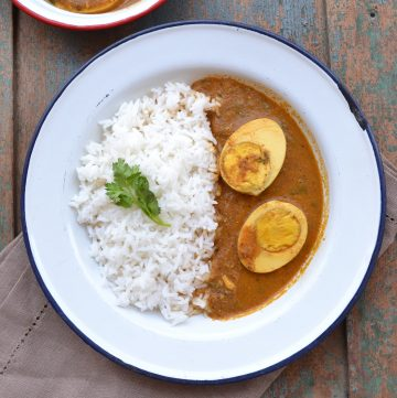 Egg curry for rice recipe
