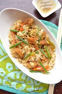 Chicken fried rice recipe image