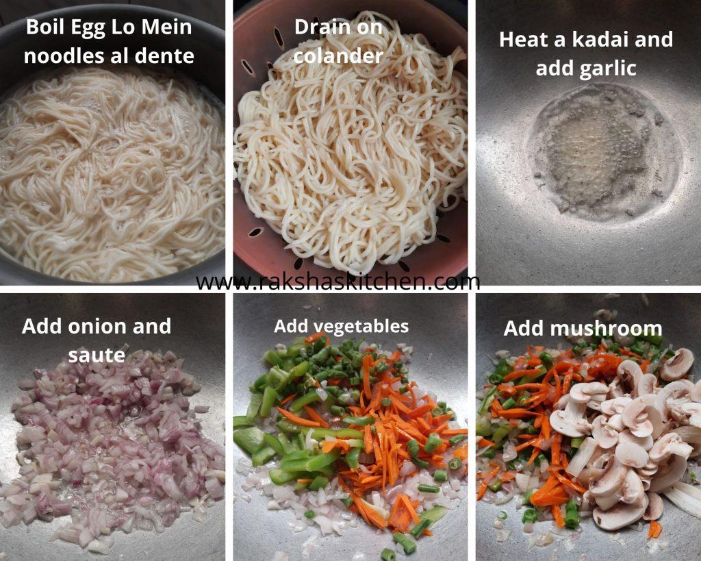 Steps to make Egg noodles