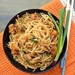 Prawn Schezwan Noodles