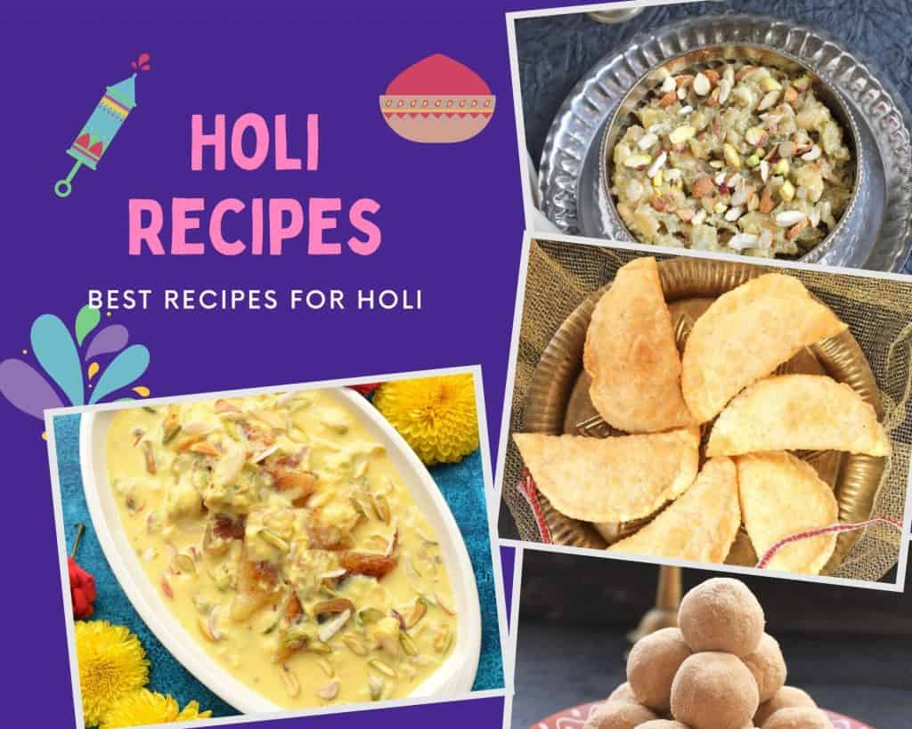 Best Recipes for holi