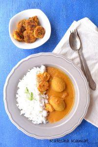 Goan prawn curry with hog plum